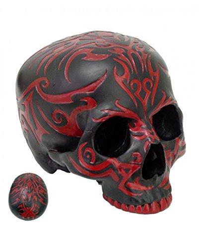 Sans mâchoire Tribal Skull