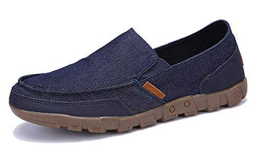 Top 10 best selling list for mens casual slip on loafers canvas flats shoes