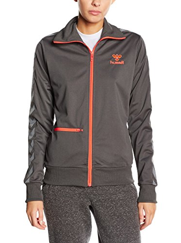 hummel Zip Jacke Classic Bee Womens Jacket - Soft Shell para Mujer, Color Gris, Talla XS