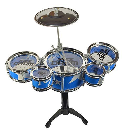 Table Top Games Desktop Drum Set (5 Drum) Blue