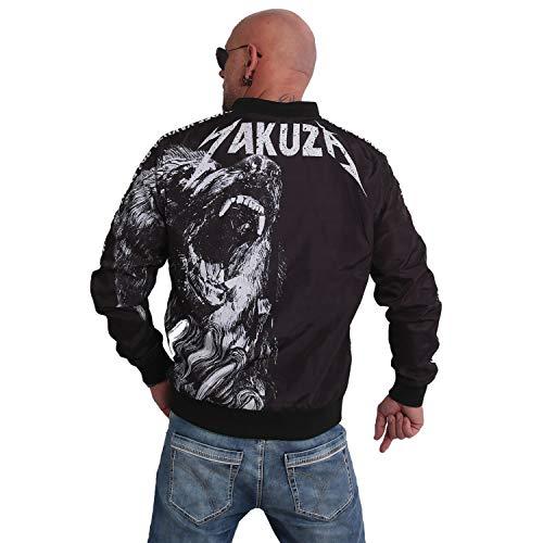 Yakuza Herren Beast Bomberjacke