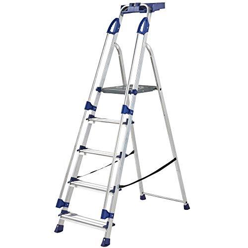 Werner Escalera de aluminio serie 705 (5 pasos)
