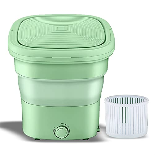 joyvio Lavadora portátil, Mini Lavadora Plegable, pequeña Lavadora portátil de 6 Libras para Ropa de bebé, Ropa Interior, calcetín en Apartamentos de Viaje