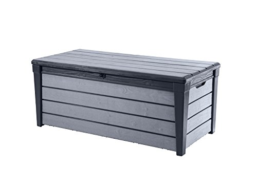 Keter Auflagen- und Universal Brushwood Box, 455 L, anthrazit / grau