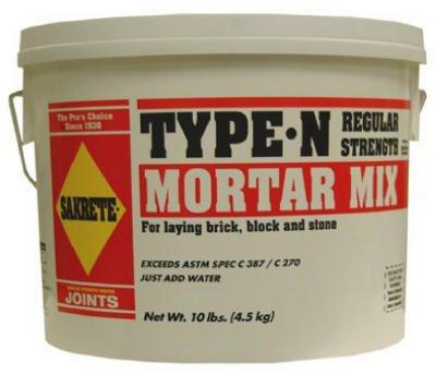 Sakrete 62300381-RDC09 10 lbs. Mortar Mix