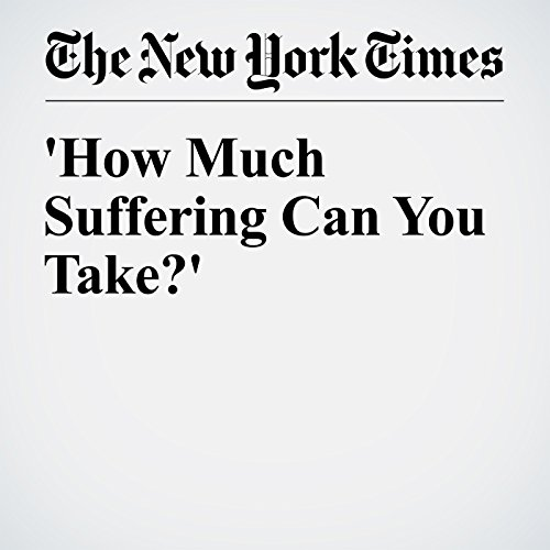 'How Much Suffering Can You Take?' cover art