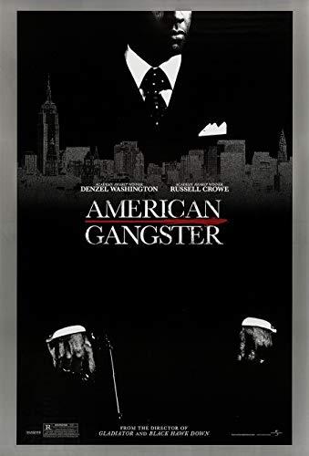 AMERICAN GANGSTER MOVIE POSTER 2 Sided ORIGINAL DENZEL 27x40