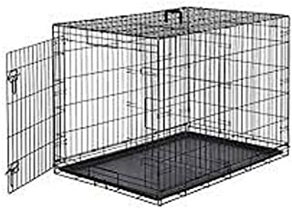 HANU Black 36 inch Cage/Crate/Kennel with Removable Tray for Dogs/Cats 038