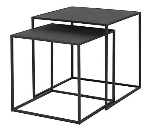 Blomus Beistelltische-65750 Beistelltisch, Stahl, Schwarz, One Size