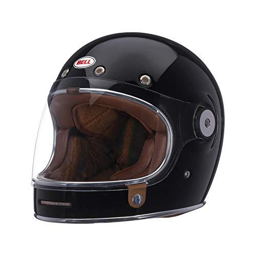 Motodak Helm Bell Bullitt DLX Gloss Black Größe S