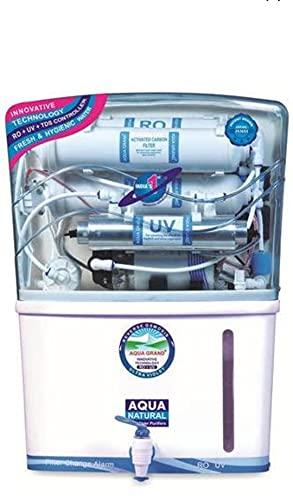 Aqua Grand+ 12 Litres RO UV UF TDS Water Purifier (White)