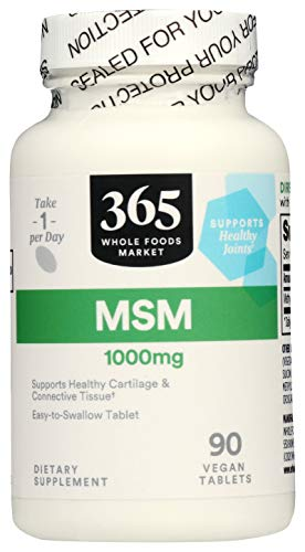 365 by WFM, MSM 1000Mg, 90 Tablets