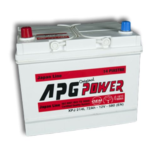 APG XPJ214 ORIGINAL JAPAN LINE - Batteria auto, 72Ah