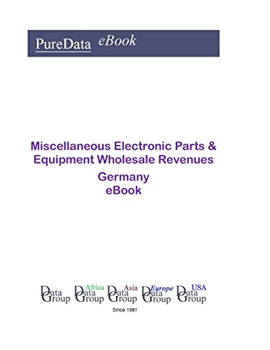 Miscellaneous Electronic Parts & Equipment Wholesale Revenues in Germany: Product Revenues in Germany