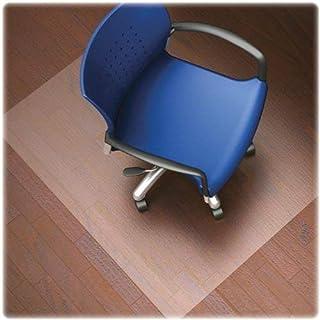 Lorell LLR82826 Nonstudded Design Hardwood Surface Chair Mat, 8.3