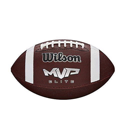 Wilson NCAA MVP Elite - Balón de fútbol, Color café