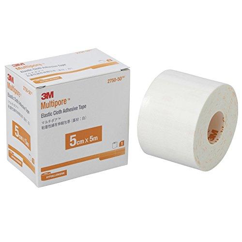 3M包帯粘着性綿布伸縮5cm幅x5m1巻マルチポア2750-50