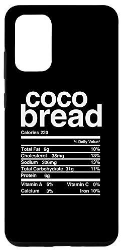 Galaxy S20+ Jamaican Coco Bread Nutritional Value Case