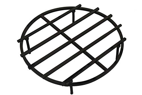 Best Bargain SteelHome 36 Inch Classic Round Fire Pit Grate with 4 Legs for Outdoor Campfire Grill
