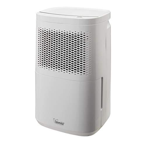 Bimar Deshumidificador DEU314 Capacidad 10L/24h, Compresor con Refrigerante R290 F-Gas Free, Cuerpo Blanco en Plástico con Asa Integrada, Depósito con 2,2L de Capacidad, Aire Acondicionado Portátil