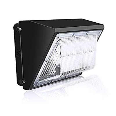 150W LED Wall Pack Light, Replace 1000W HPS/HID Bulb, 5000K Daylight, 20000LM Super Bright Commercial and Industrial Outdoor Wall Pack Lighting, IP65 Waterproof