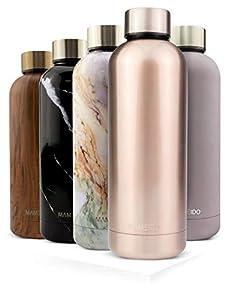 immagine di MAMEIDO Borraccia Termica Acciaio Inox, Bottiglia Termos Acqua 750 ml, Riutilizzabile, Senza BPA, per Adulti, Bambini