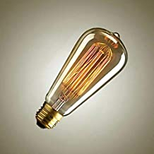 ايديسون مصباح LED كمثرى,اصفر