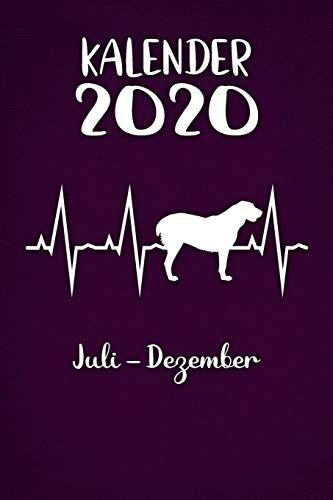 Kalender 2020: Lilaner Tageskalender Alabai Herzschlag Hunde 2. Halbjahr Juli Dezember ca...
