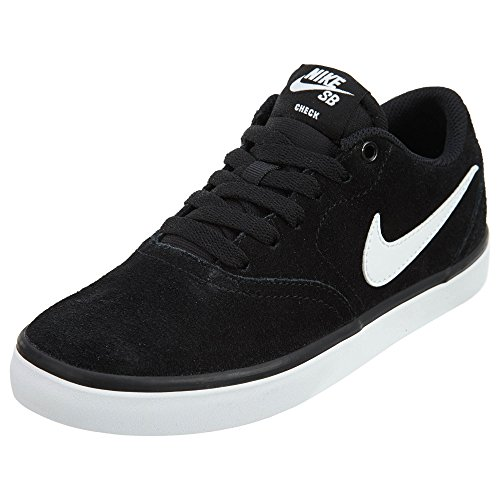 Nike SB Check Solar, Running Shoe Unisex Adulto, Black White, 42 EU