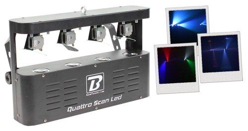 BoomToneDJ Quattro Scan LED-Lichtspiel
