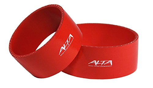 Alta Performance AMP-ENG-303RD Intercooler Couplers R53 Red 2 Pieces