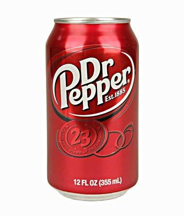 Dr Pepper Soda - US Import! (24 Dosen x 355ml)