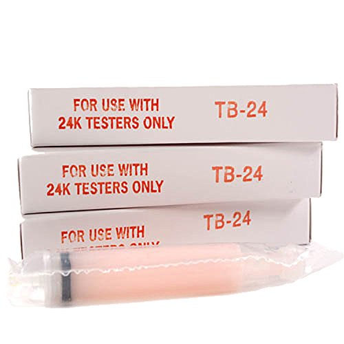 3 Pack Gold Tester Replacement Gel for GXL-24 or GT-4000