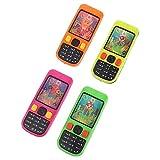 XIANGBEI Teléfono móvil forma agua virola juego niños juguetes intelectuales agua divertido lazo anillo juguete mini juego arcade