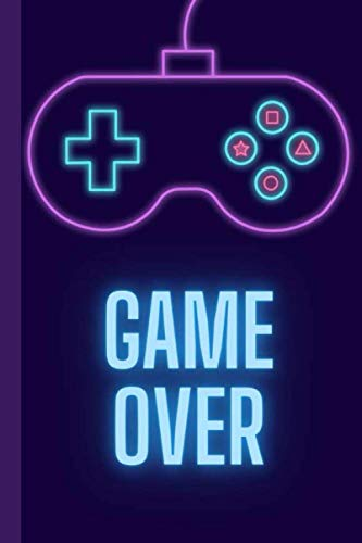 Game Over: Retro Video Game Controller Style Journal