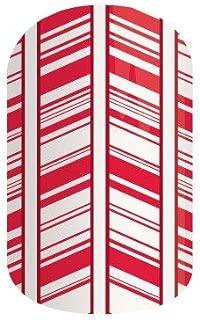 Jamberry Nails -Candy Cane Lane (Half Sheet) *Holiday Wraps*