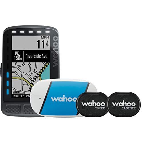 Wahoo Elemnt Roam GPS Fahrradcomputer Bundle inkl Tickr 2 Gen, RPM SPD/Cad