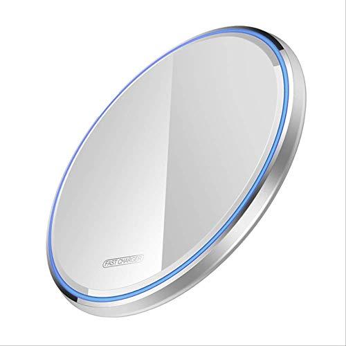 15w Qc 3.0 Qi Cargador Inalámbrico Para Iphone 11 Pro X Xs Max Xr 8 Samsung S20 S10 S9 Note 10 9 8 Usb Type C Pad De Carga Rápida Blanco