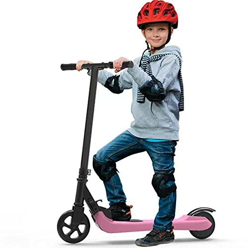 Riding'times Patinete eléctrico para niños, Kickscooter Plegable, hasta 7km/h, Alcance de 7...