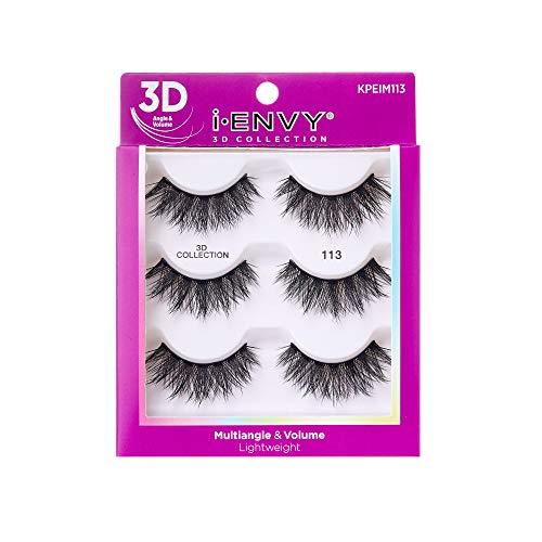 KISS i Envy 3D Collection Eyelashes Multiangle & Volume (KPEIM113)