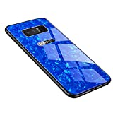 Luhuanx Samsung Galaxy Note 8 Case, Note 8 Glass