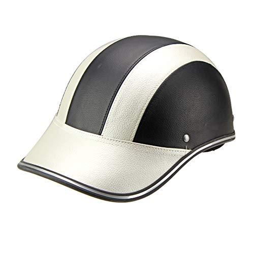 SanQing Baseball Cap Motorrad Fahrradhelm UV-Schutz Helm Sonnenblende kann eingestellt Werden - eine Vielzahl von Farben,G,OneSize(54~60cm)
