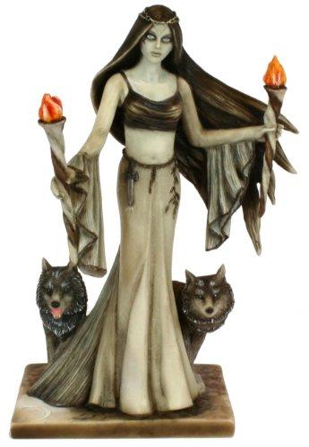 Faerie Glen Hekate Göttin der Nacht Figur von Munro, 15,2 cm hoch