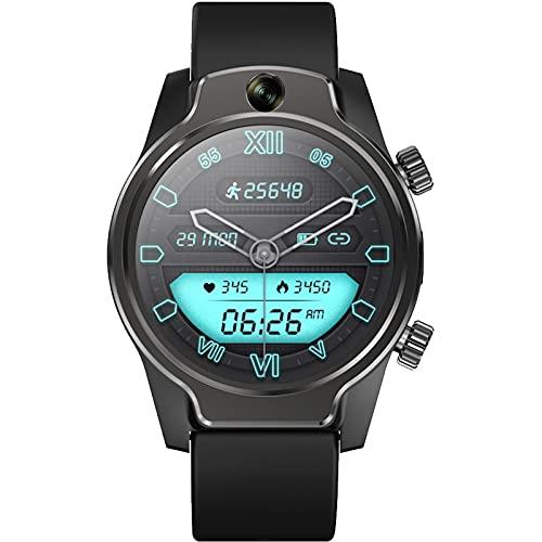 ZGLXZ 4G Smart Watch IP68 Puede Nadar Y Bucear 1360Mah800w Doble Cámara 3 + 32G Fitness Sports Multi-Functy Smart Watch Dual Cámara para Android iOS