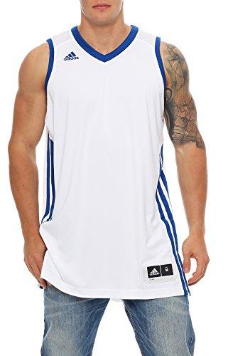 adidas E Kit JSY Basketball Trikot Climacool Herren weiß oder grün S - 4XT Neu