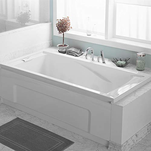American Standard 2771V002.020 Evolution 5 ft. x 36 in. Deep Soaking Tub with Reversible Drain, White