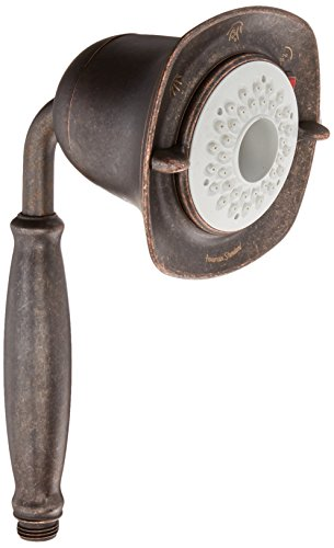 American Standard 1660.843.224 Flowise Square 3-Function Water Saving Hand Shower, Oil Rubbed Bronze