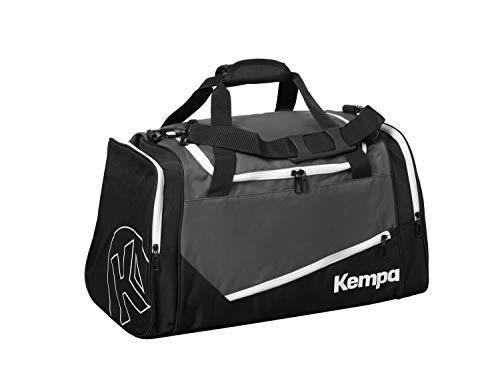 Kempa Unisex Sporttasche-200491401, Anthra/schwarz, L, 200491401