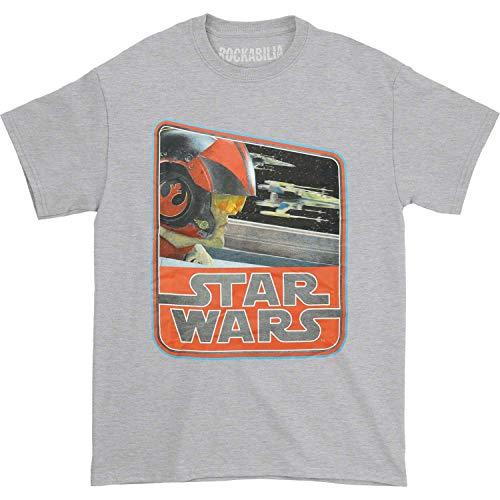 Star Wars Episode VII - T-Shirt Dameron Vintage (L)