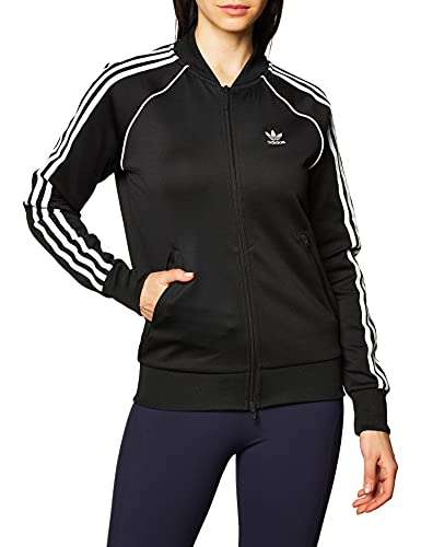 adidas SST Tracktop PB Sudadera, Mujer, Negro (Black/White), 40